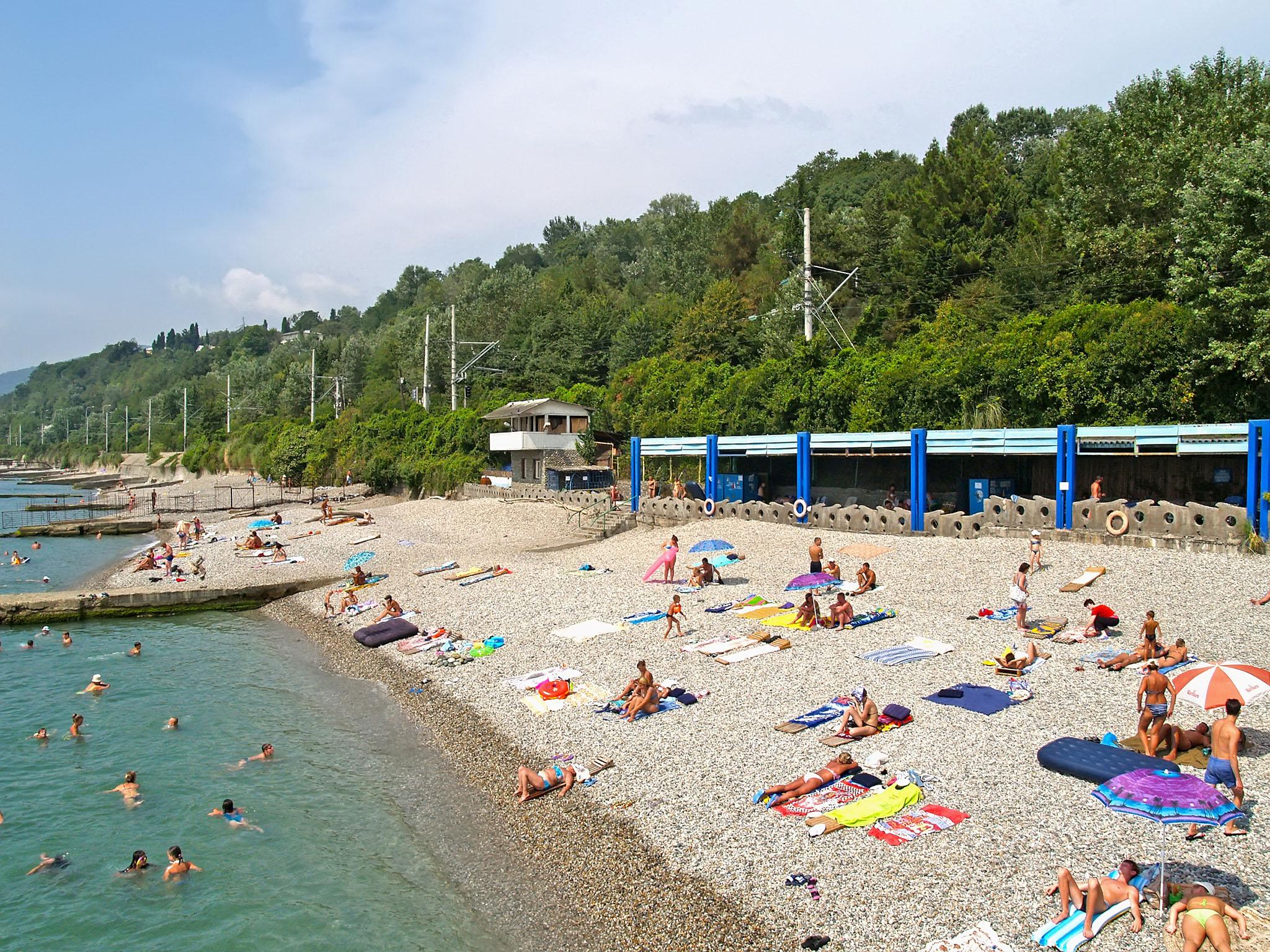 Кудепста фото пляжа и города 2018