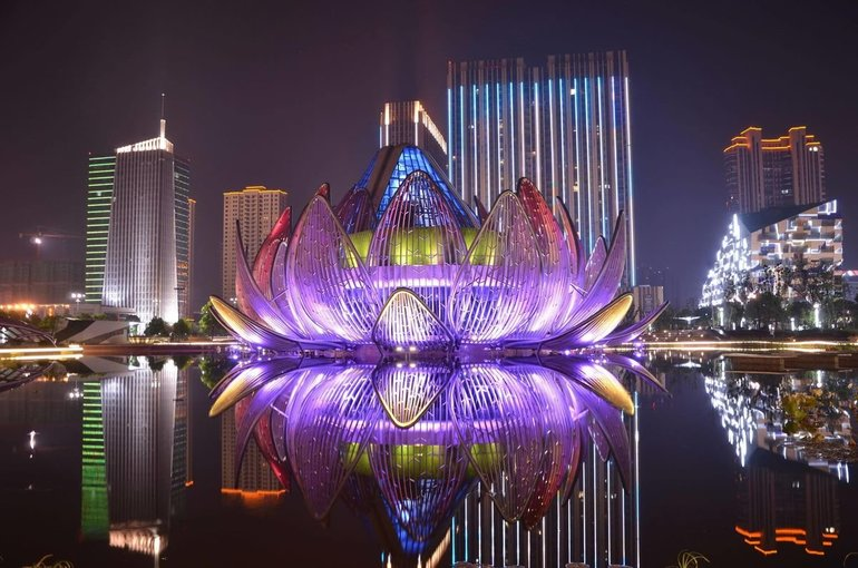 The Lotus Building в Китае