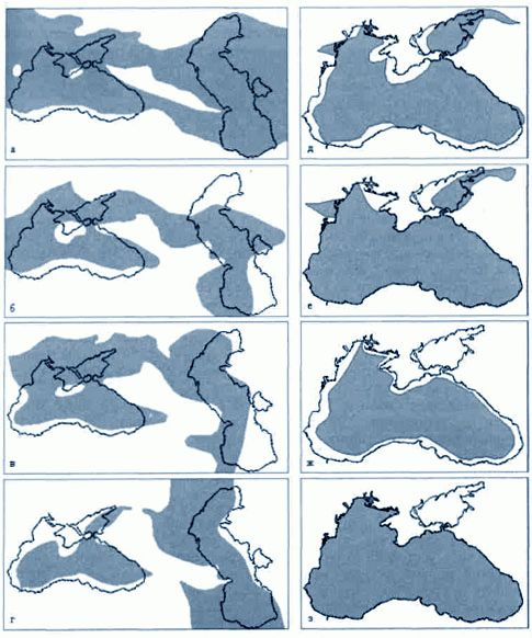 прошлое черного моря