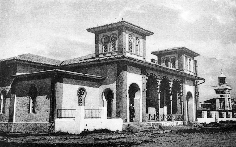 История Анапы, водо-грязевая лечебница Будзинского в Анапе