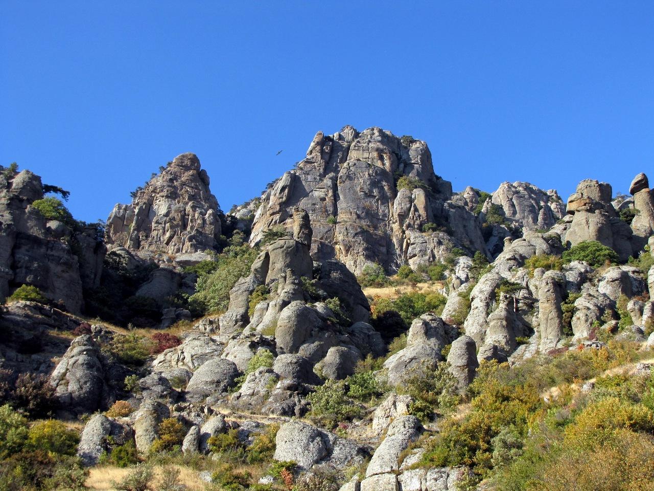 Долина привидений в Демерджи