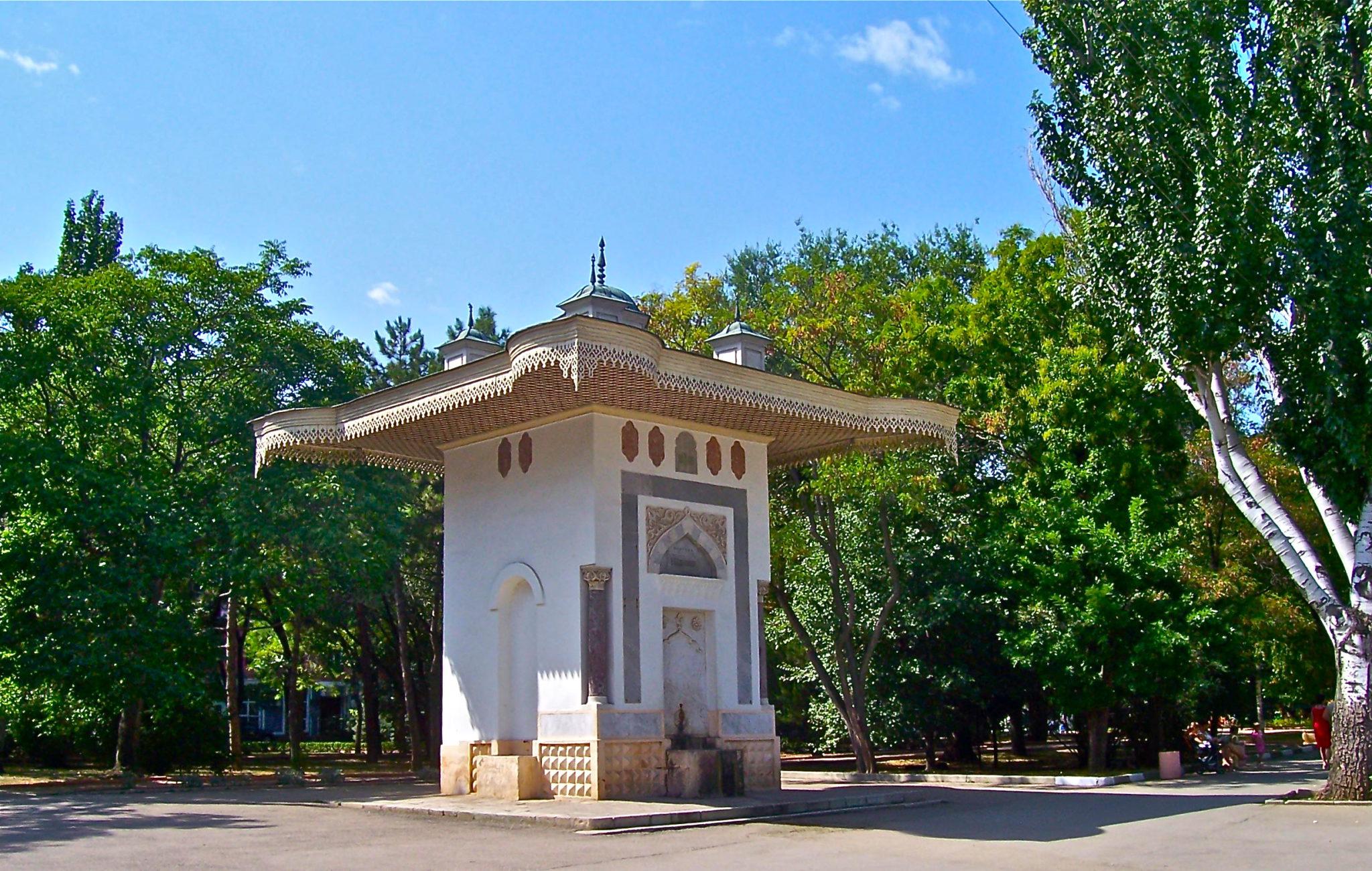 Достопримечательности Феодосии, фонтан Айвазовского