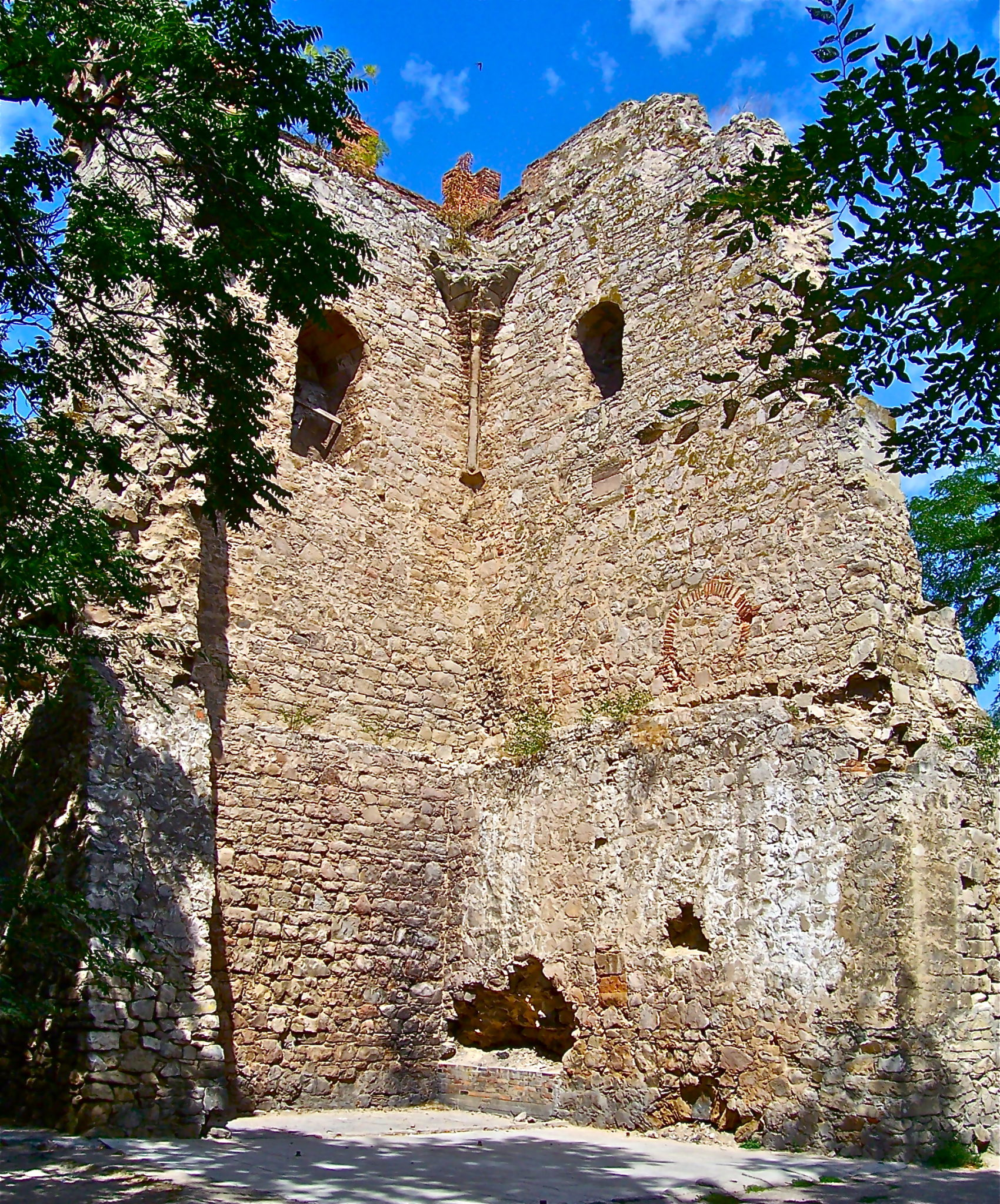 Достопримечательности Феодосии, Башня Константина