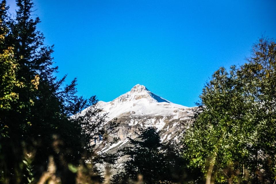 Вершина горы Оштен