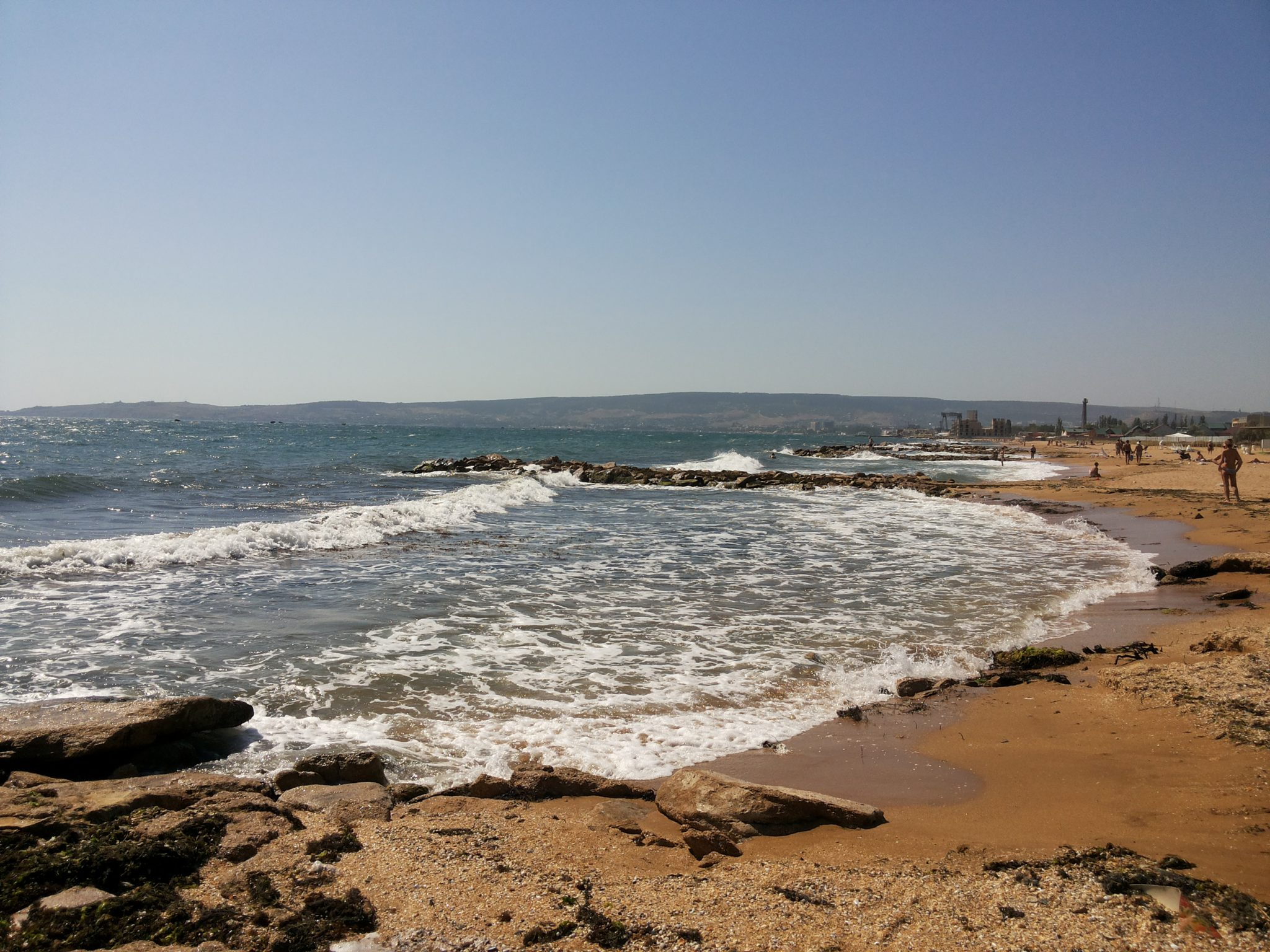 Феодосия, пляж