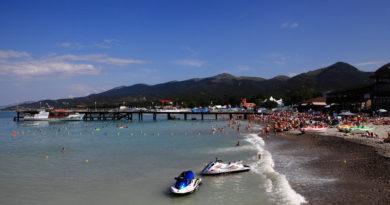 Кабардинка пляж