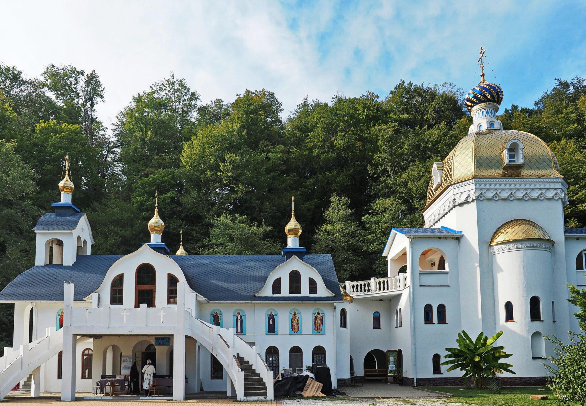 троице-георгиевский монастырь сочи