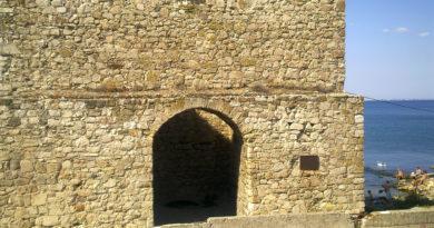 портовая башня в Феодосии
