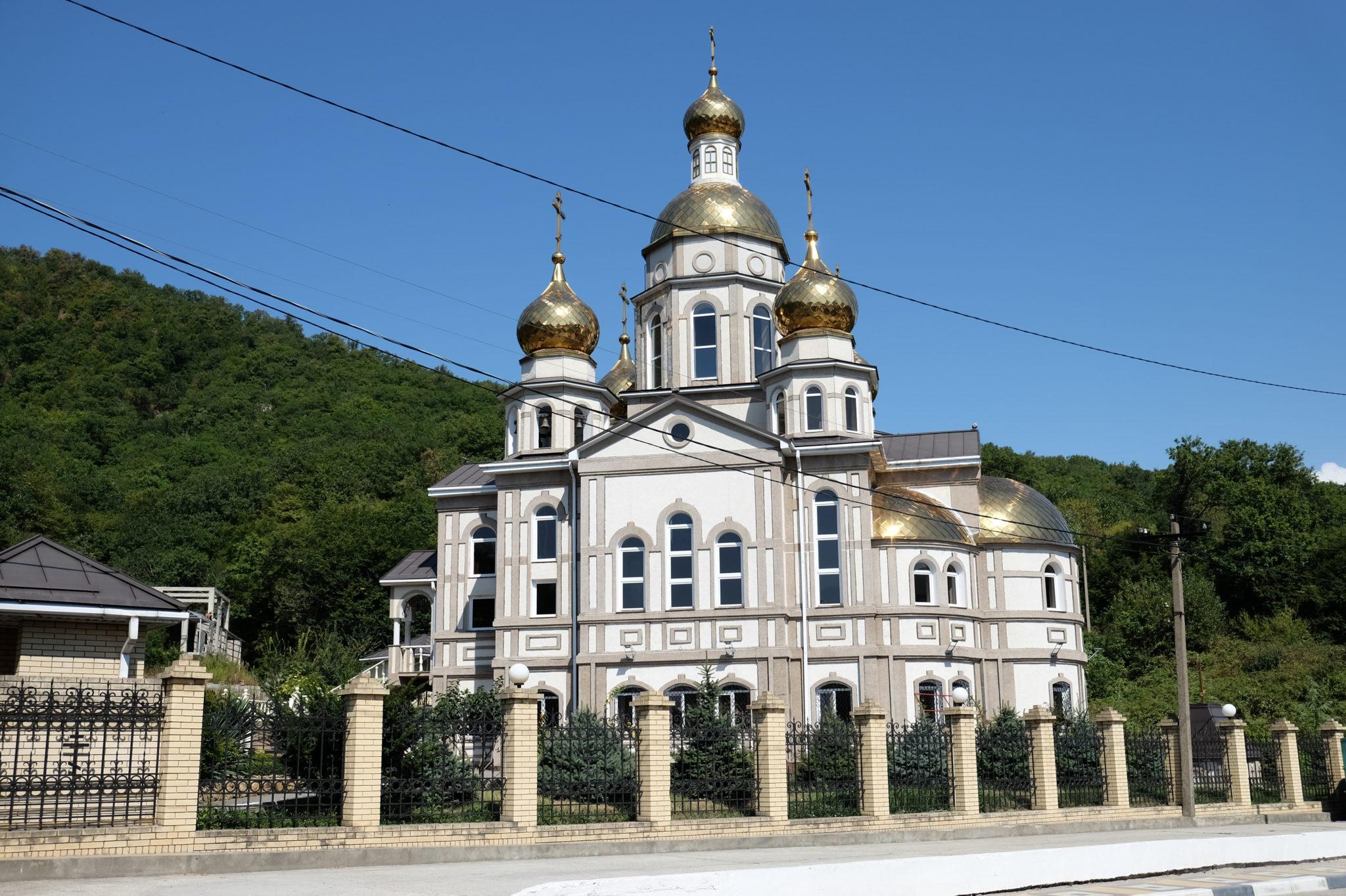 храм ольги в ольгинке