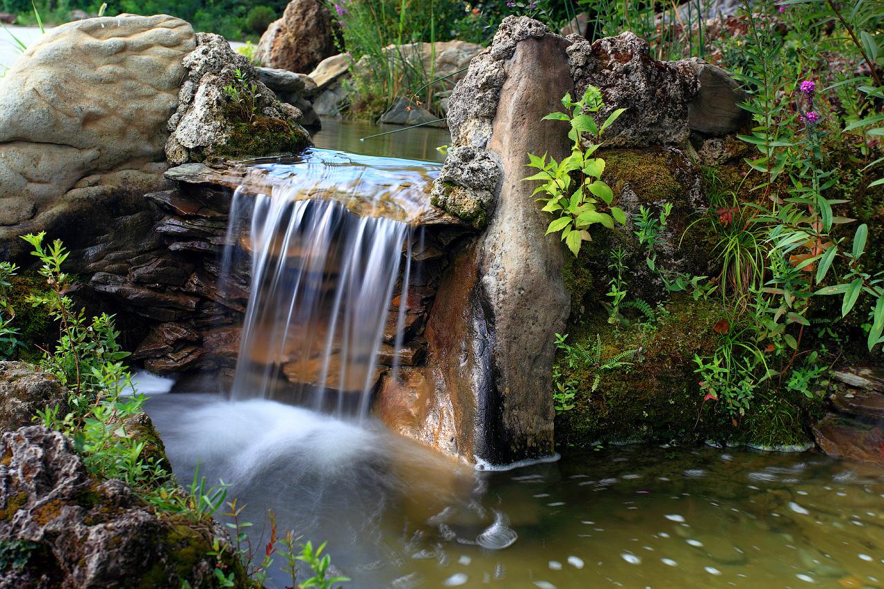 Картинки искусственного водопада