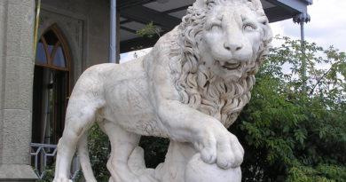 львы в воронцовском дворце