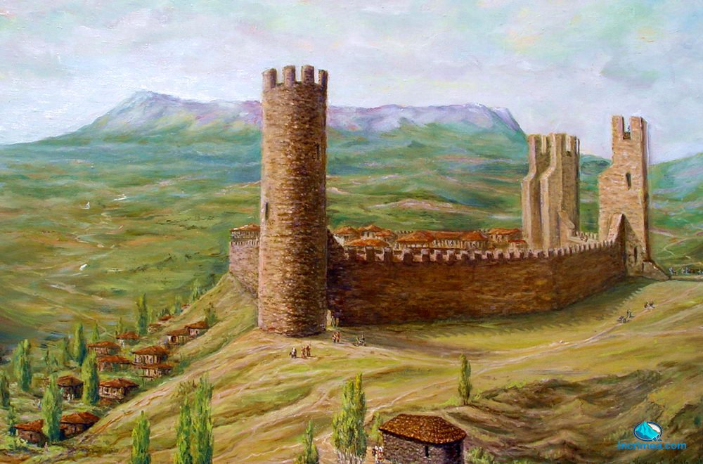 Древняя крепость Алустон в Алуште