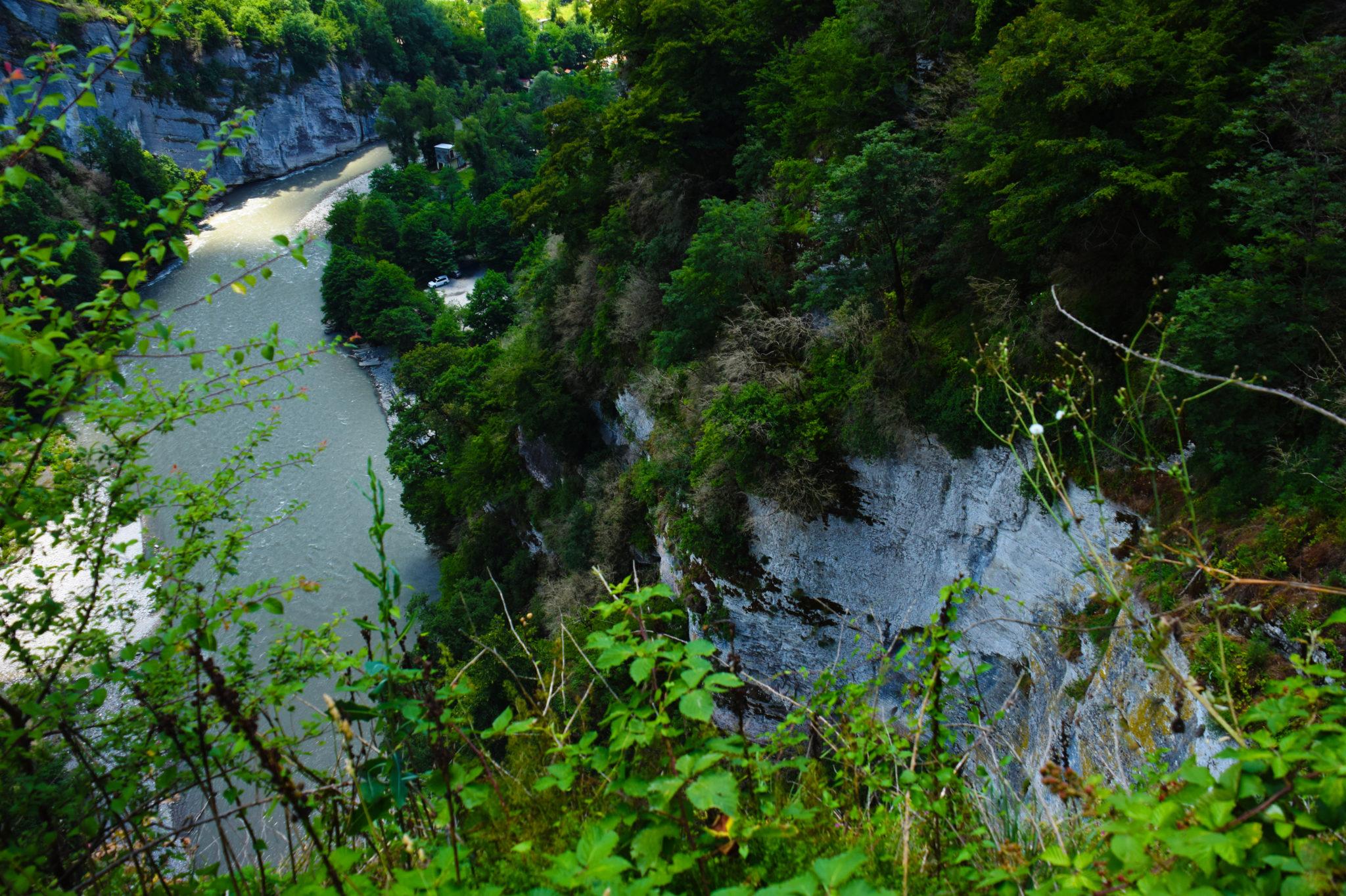 Виды в районе Ахштырской пещеры