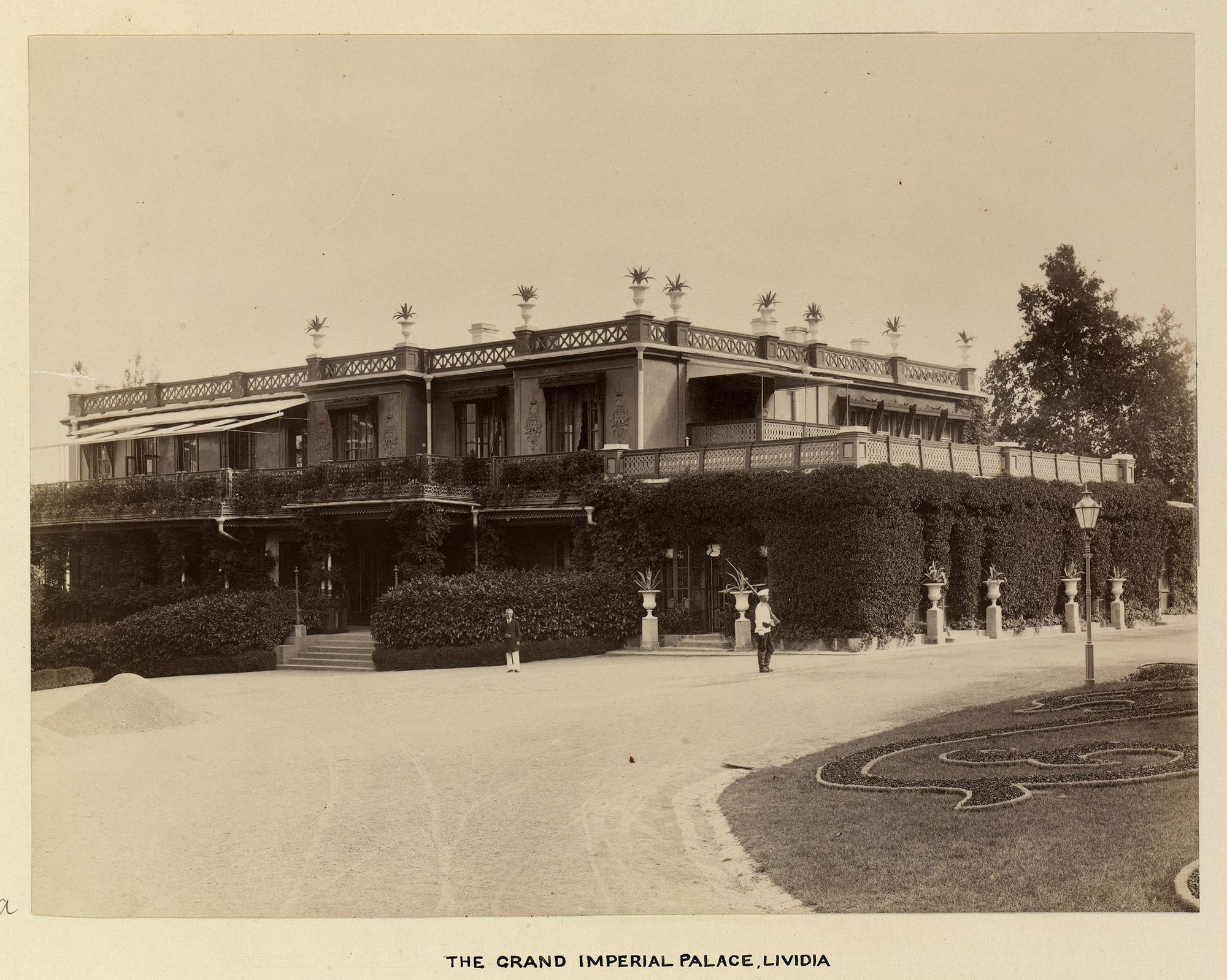 Императорский Ливадийский дворец в конце 19 века