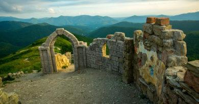 "Внутри крепости ""Грозовые ворота"""