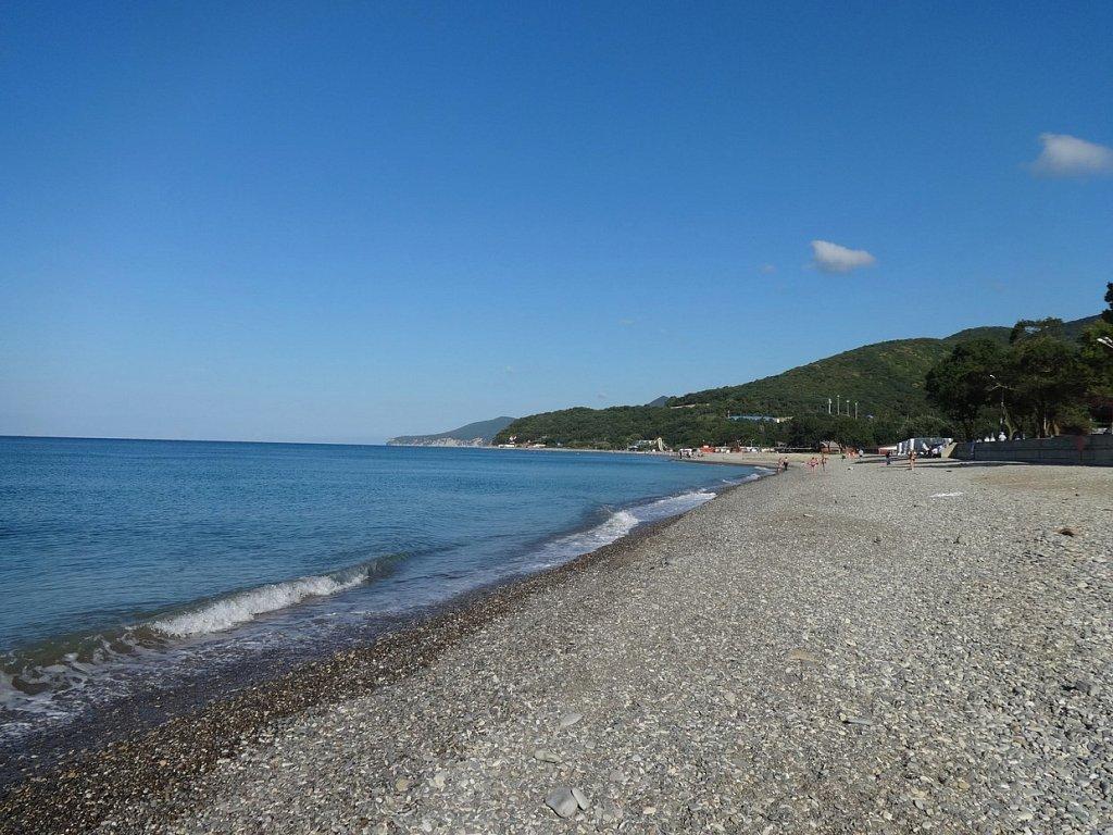 Берег моря в Кринице