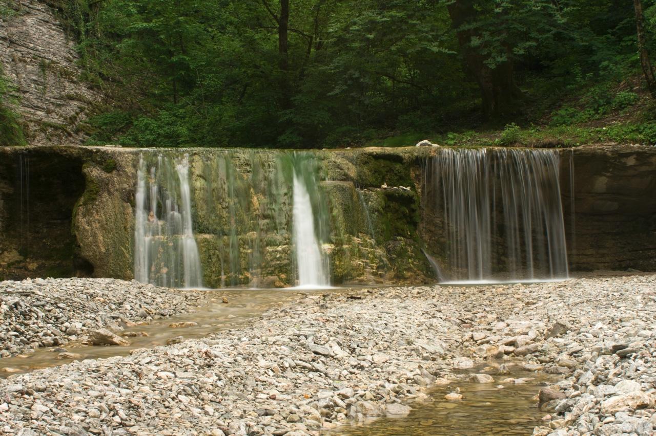 Полковничьи водопады