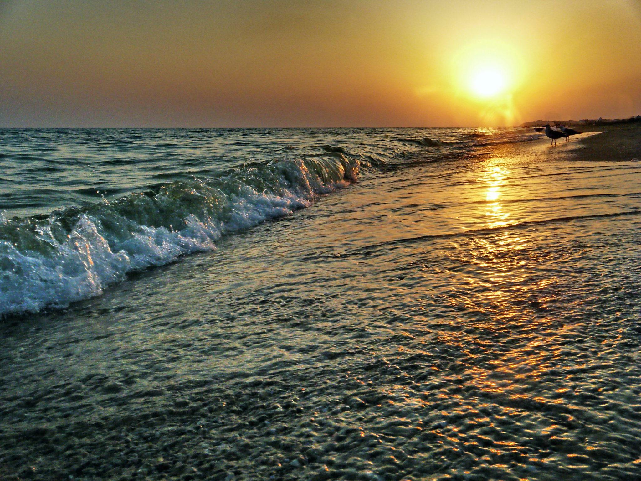 Отдых в Благовещенской. Морской пейзаж