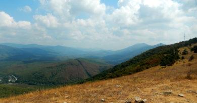 Гора Нексис. Вид с вершины
