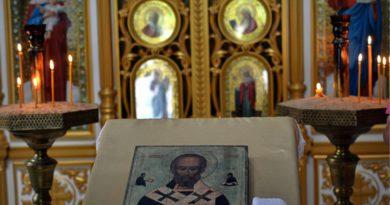 """Православный комплекс """"Святая ручка"""", в часовне"""