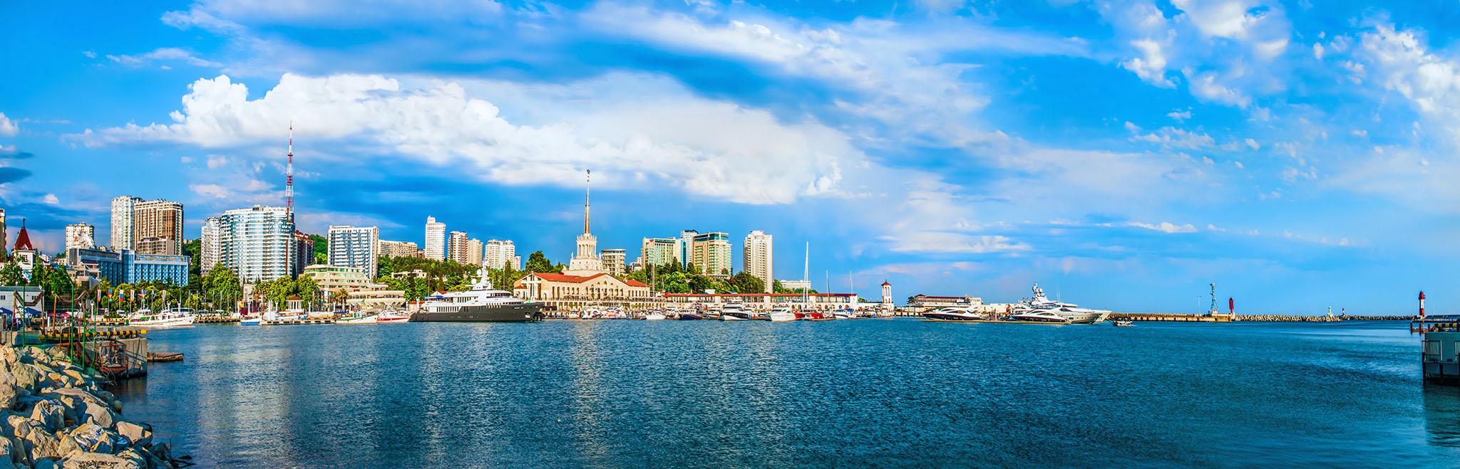Отдых в Сочи, панорама города