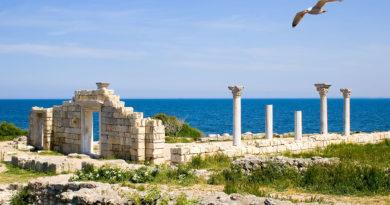 Херсонес Таврический, руины древнего города