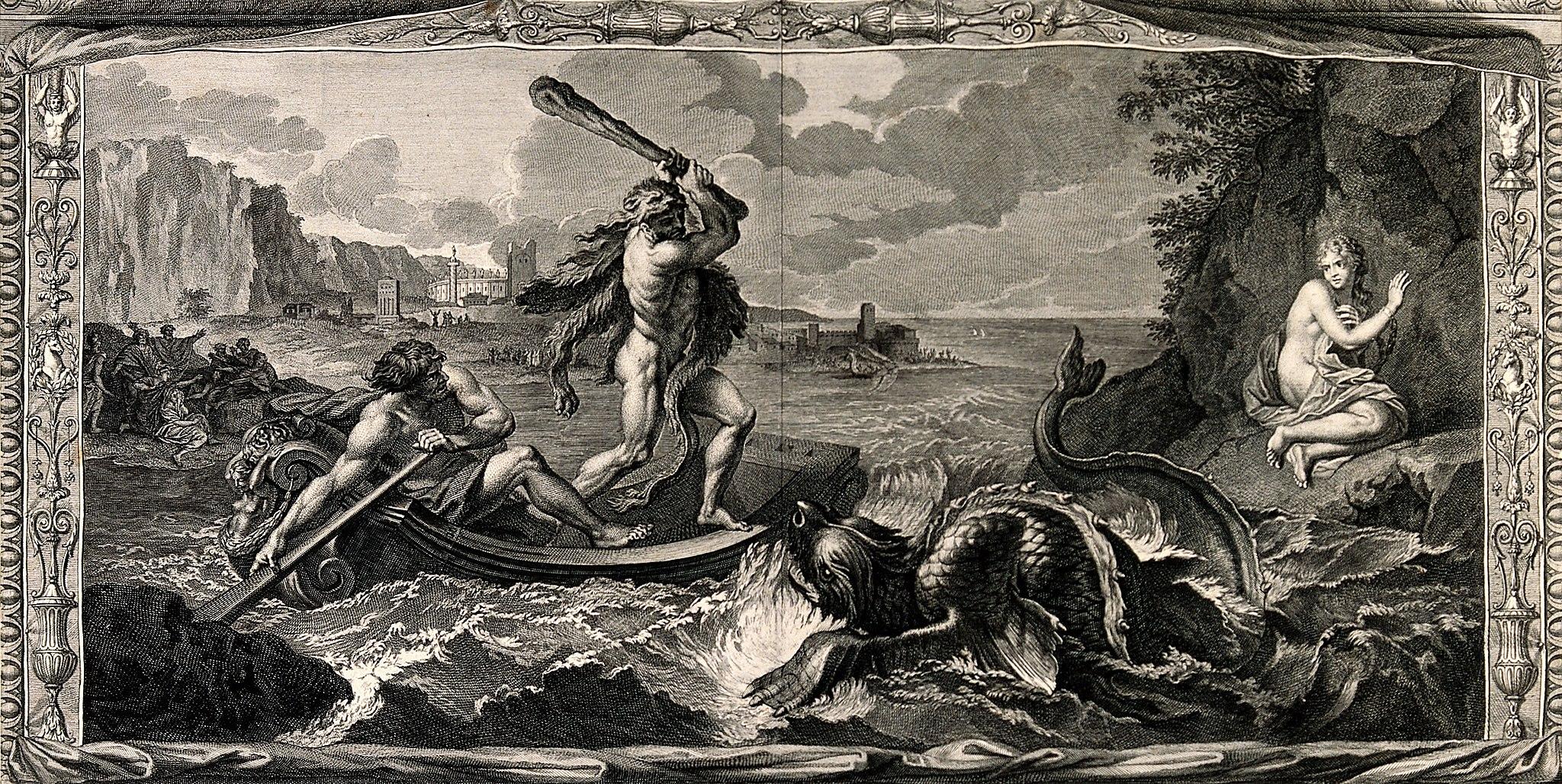 Геркулес убивает морского змея