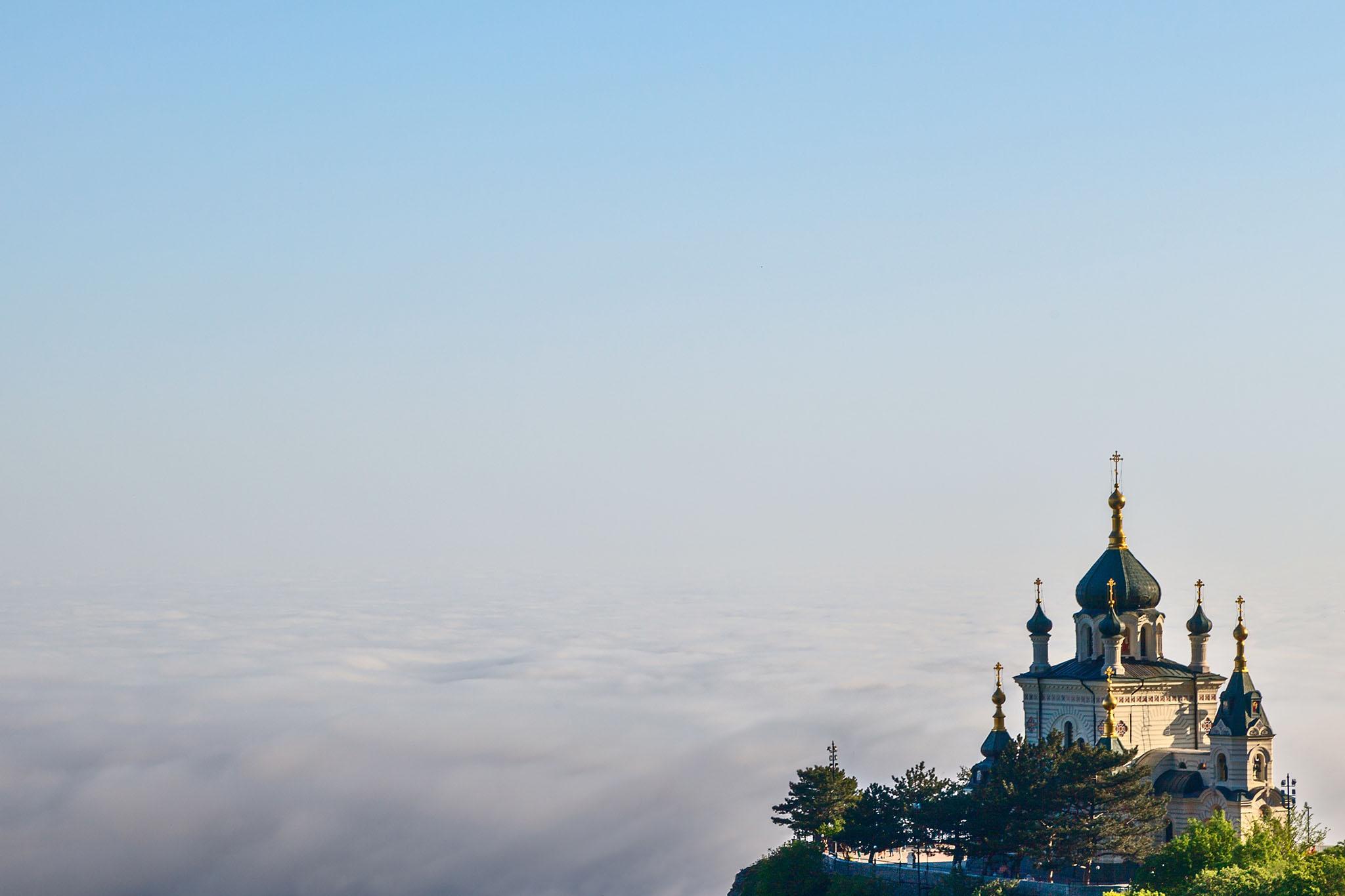Форосская церковь или Храм Воскресения в Крыму