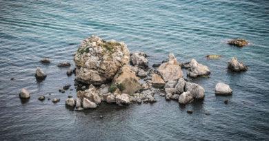 Вид на Крабий остров