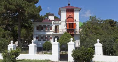 Створный маяк в Геленджике