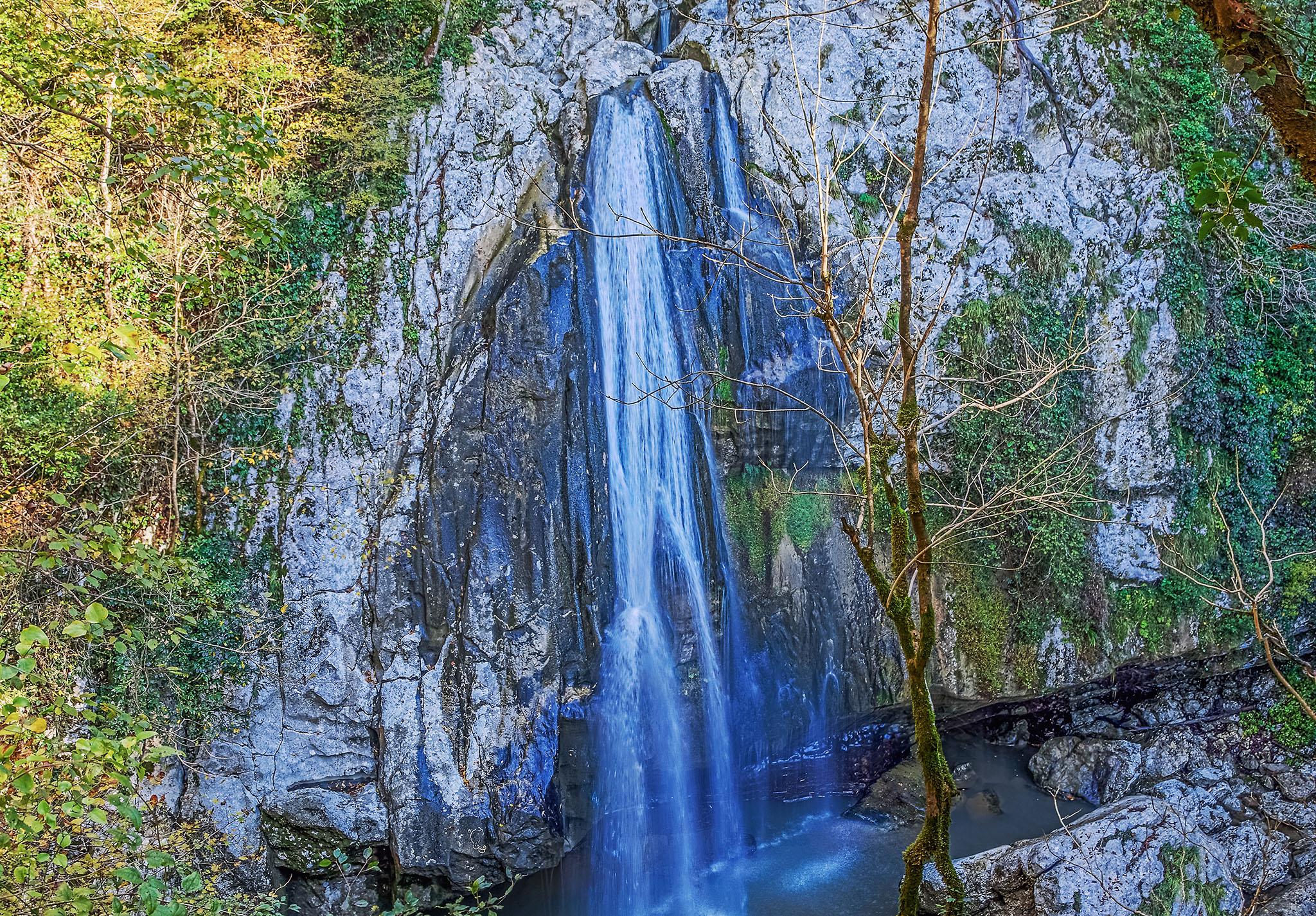 Агурские водопады, Хоста