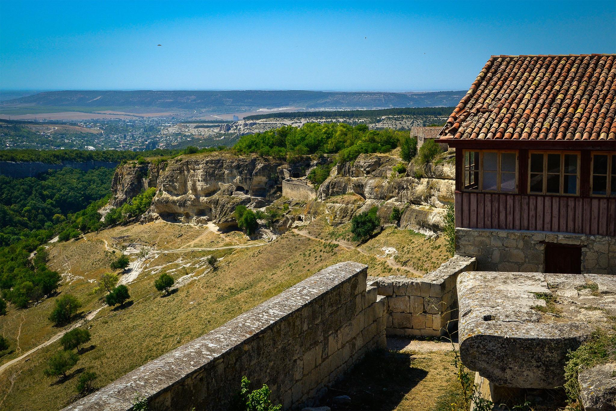 Чуфут-Кале в Крыму