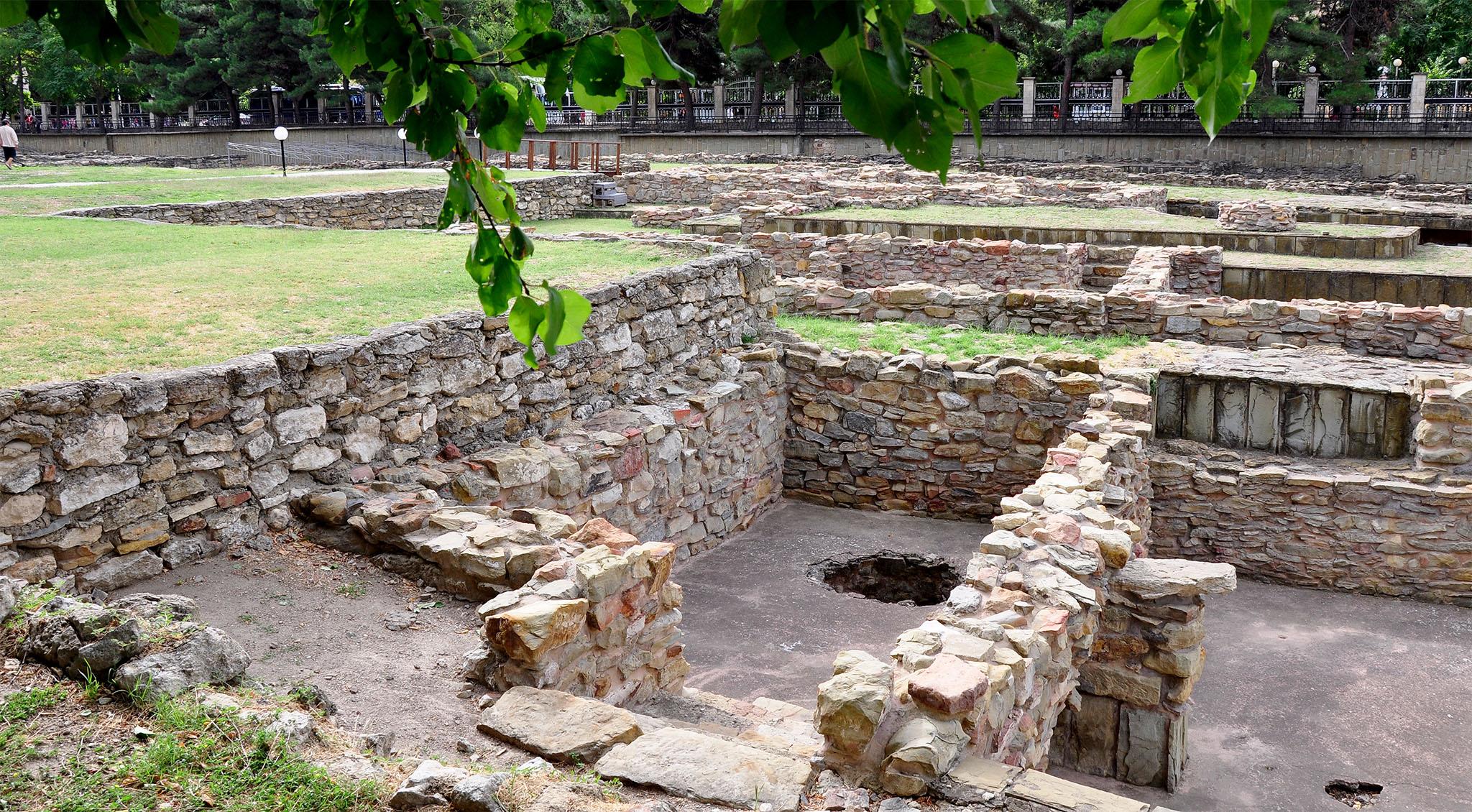 Музей Горгиппия в Анапе, раскопки жилищ