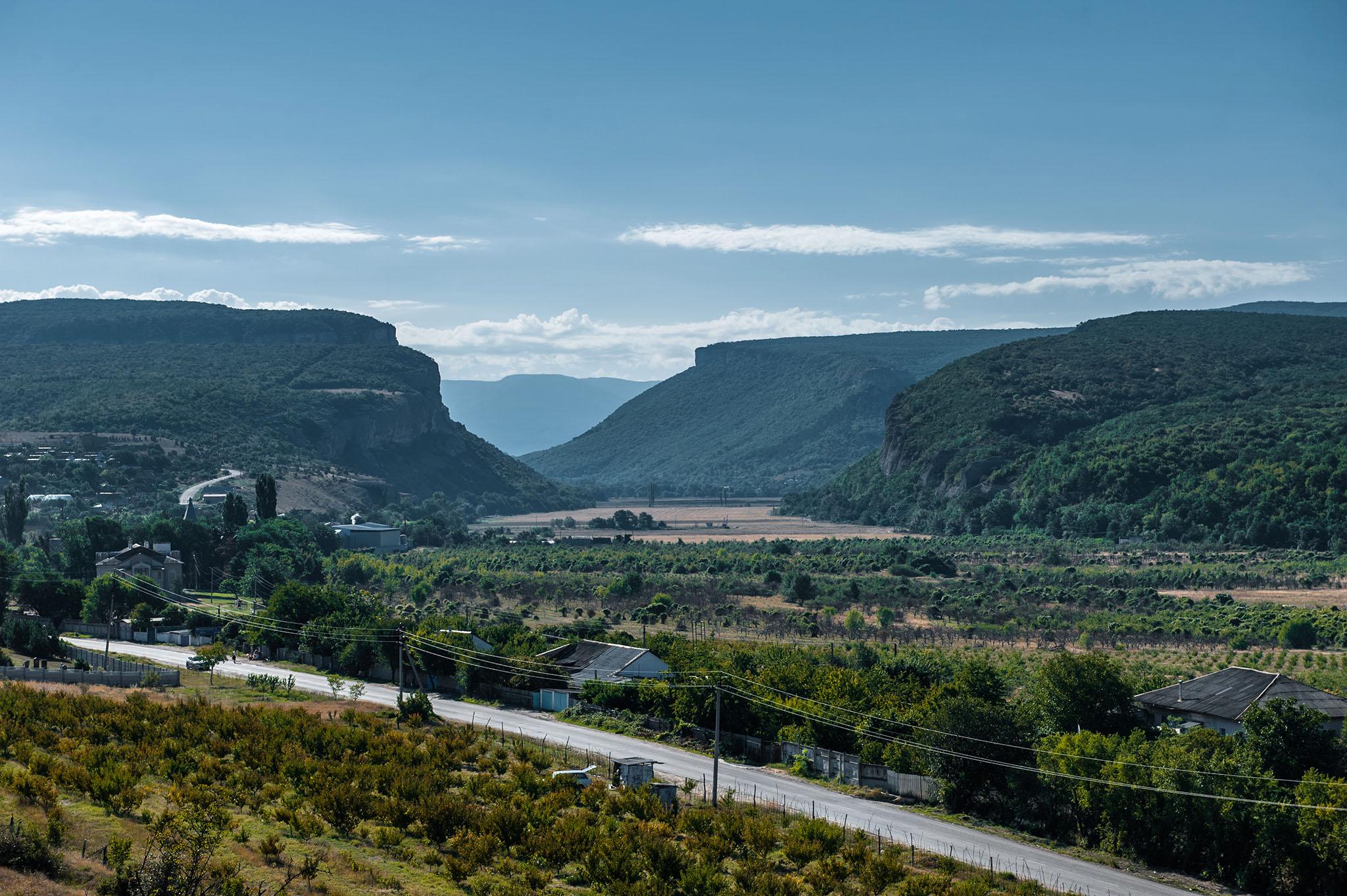 Бельбекский каньон, памятник природы