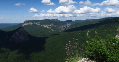 Большой каньон Крыма, панорама