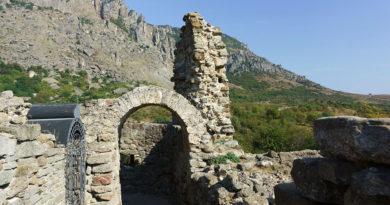 Крепость Фуна в Крыму