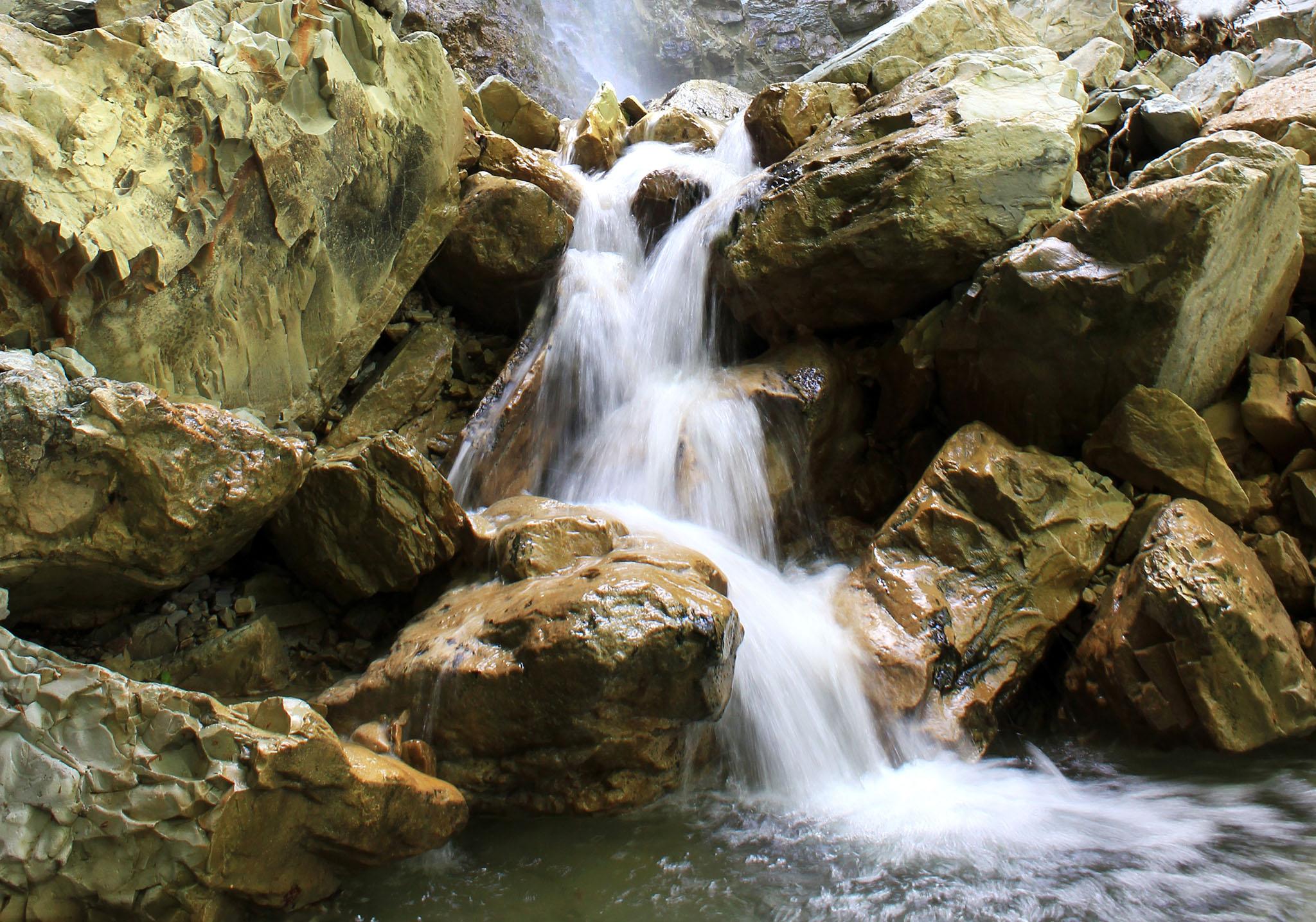 Водопад Перун в Туапсе