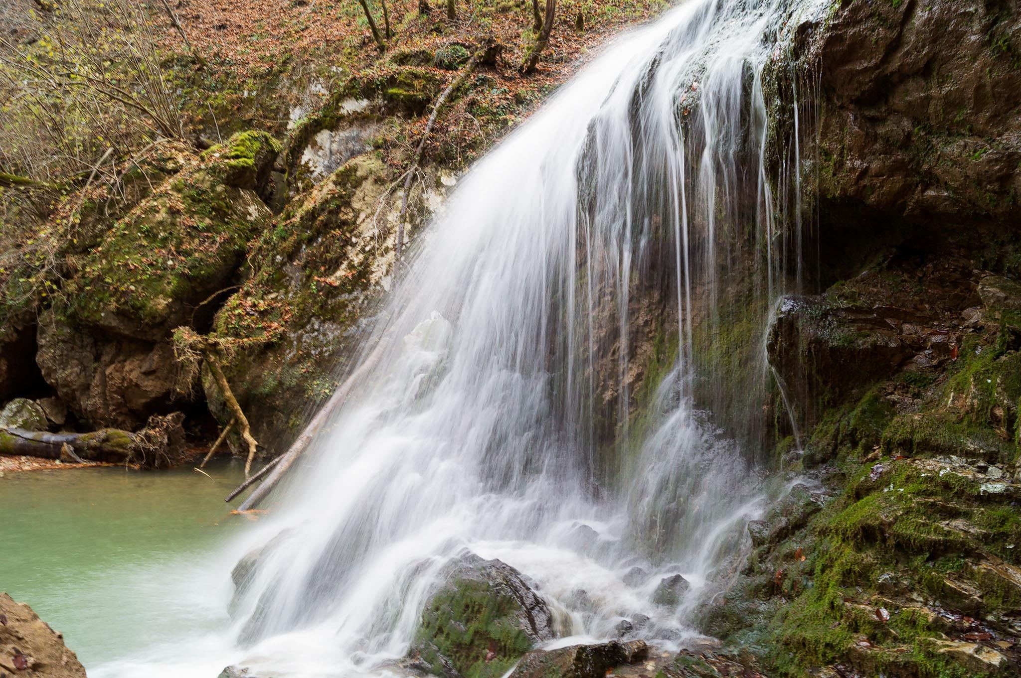 Водопад Руфабго в Адыгее