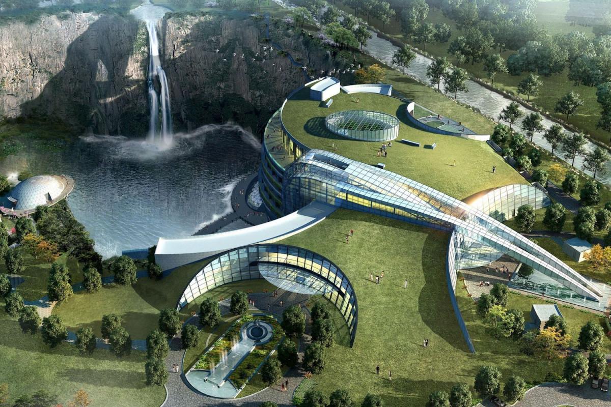 В Китае открылся первый в мире подземный отель