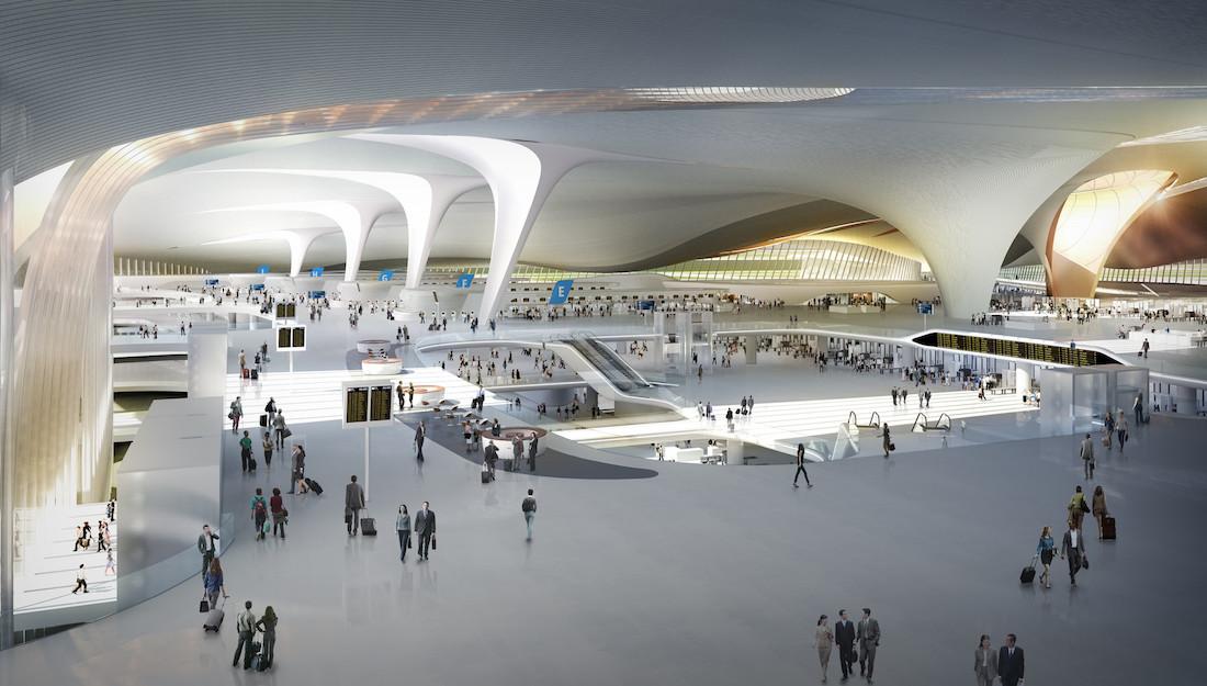Новый аэропорт в Пекине сможет принимать 72 млн пассажиров к 2025 году