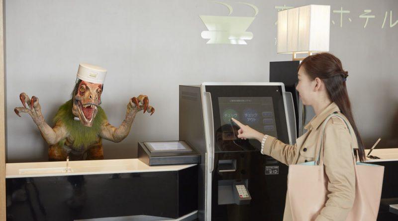 """В японском отеле, которым управляют роботы, уволили половину """"сотрудников"""""""