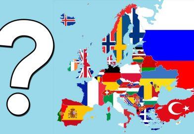 Тест: А вы угадаете флаги Европы?