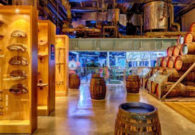 Неизменно популярный у туристов музей пива Guinness в Ирландии