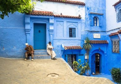 Шавен: необычный город в Марокко с лазурными декорациями