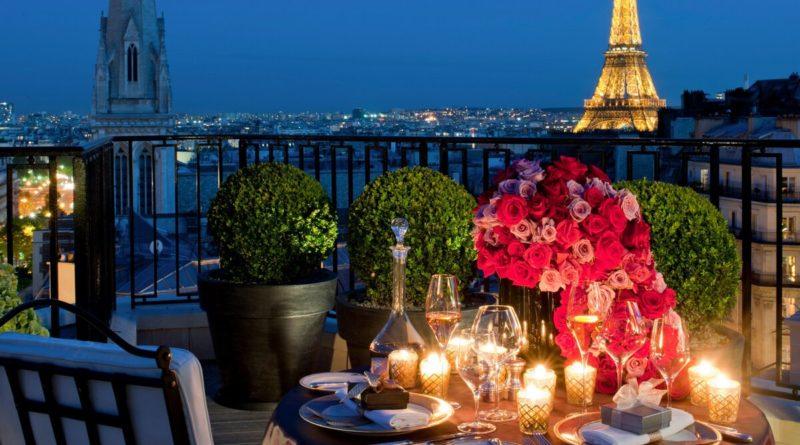 Рейтинг самых романтических мест в прекрасном Париже